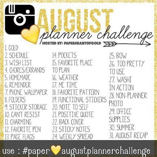 Instagram Planner Challenge