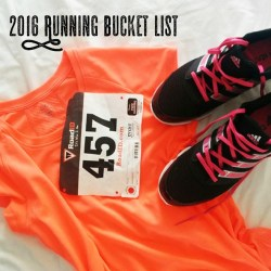 Running Bucket List