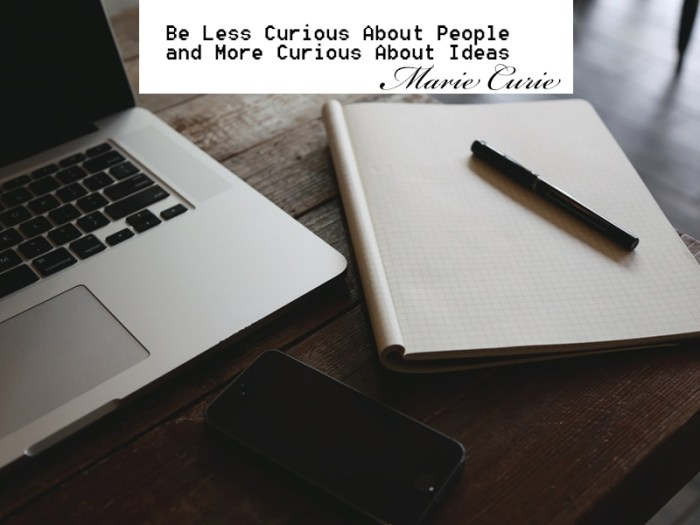 Quote on Ideas