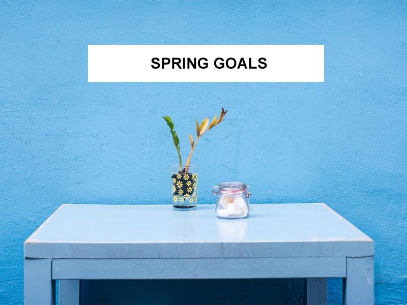Spring Goals