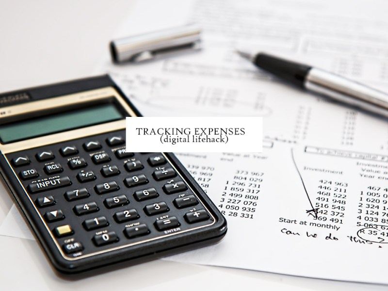 Tracking Expenses
