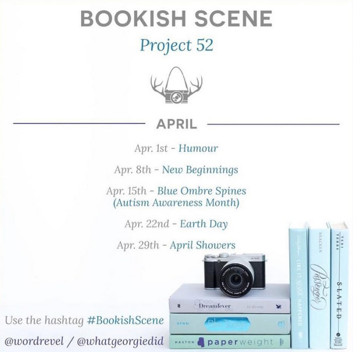 BookishScene April Bookstagram