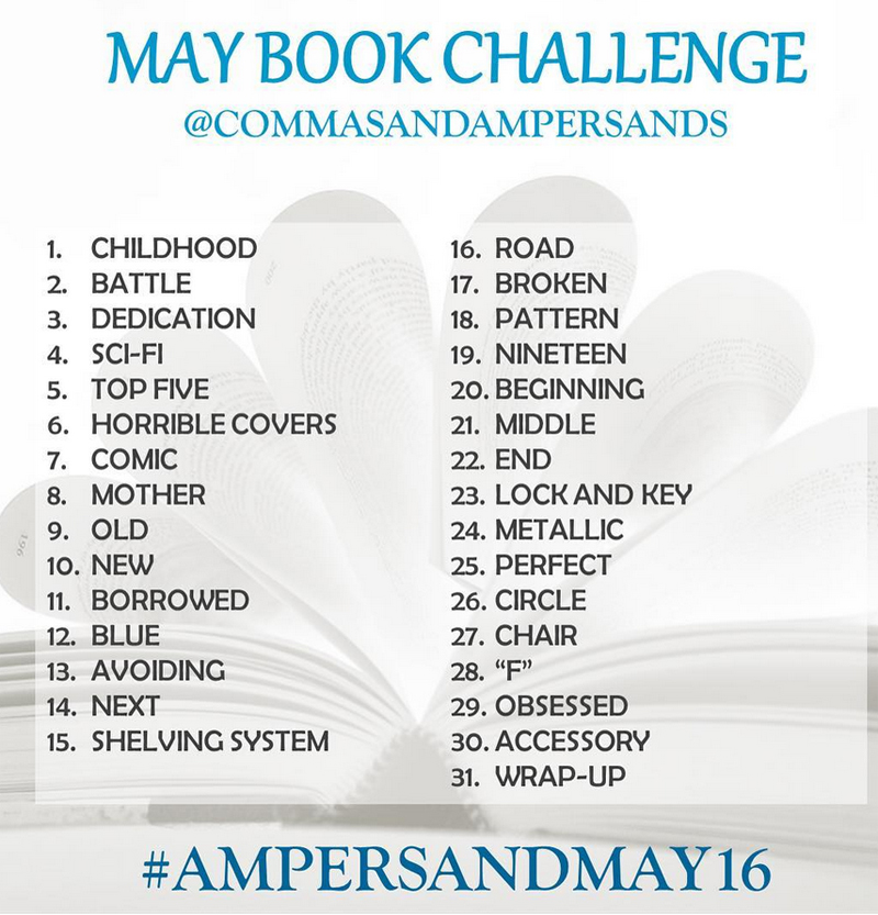 Commas Bookstagram Instagram Challenge