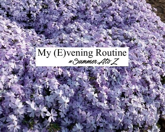 evening routine