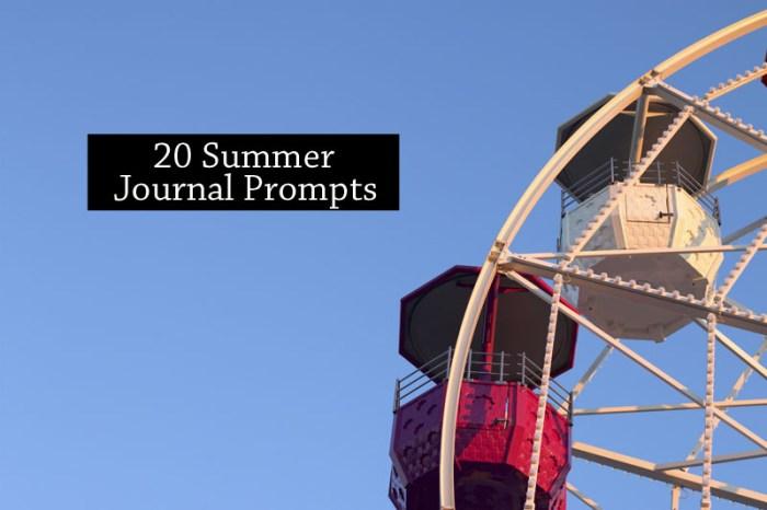 summer journal