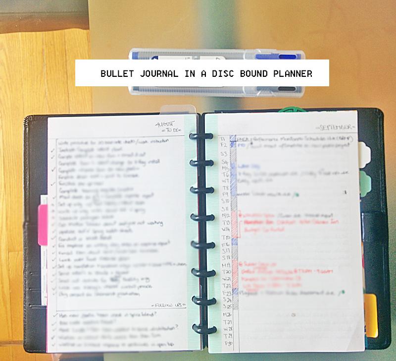 bullet journal system