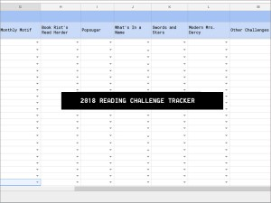 2018 Reading Challenge Tracker