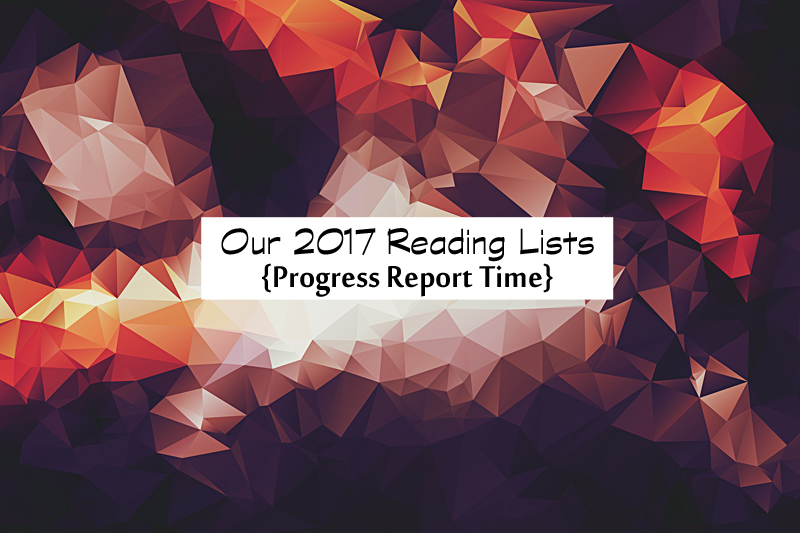 reading list progress report