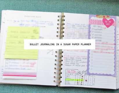 Sugar Paper Planner and Bullet Journal