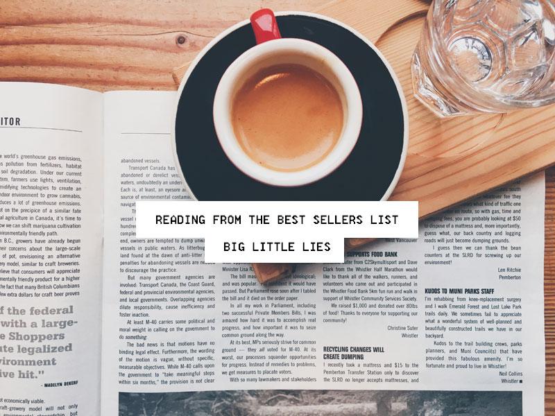 Best Seller Book: Big Little Lies
