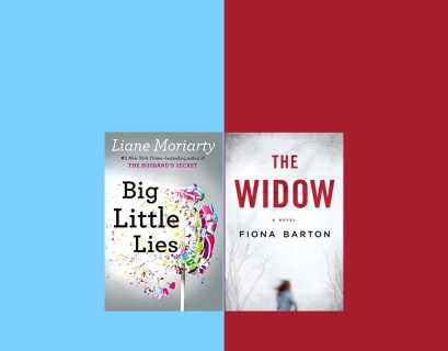 Book Twins Big Little Lies and The Widow