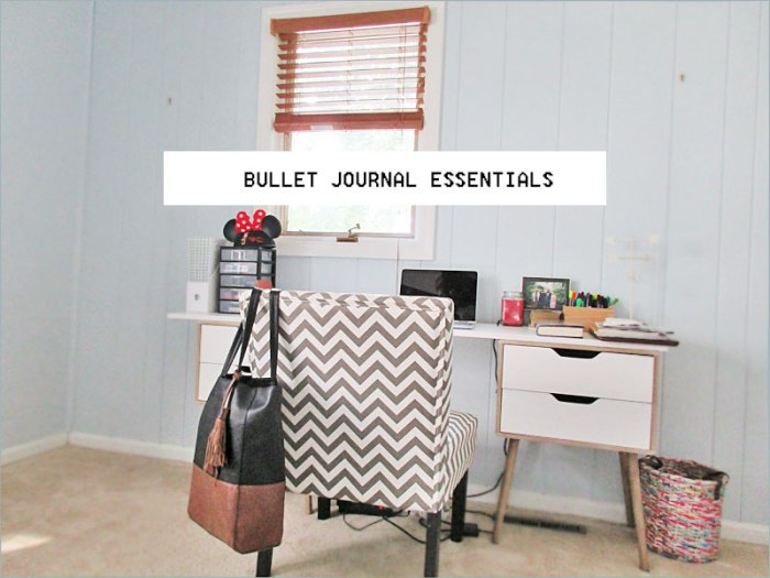 Bullet Journal Essentials