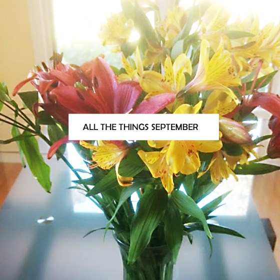 All the Things Septermber