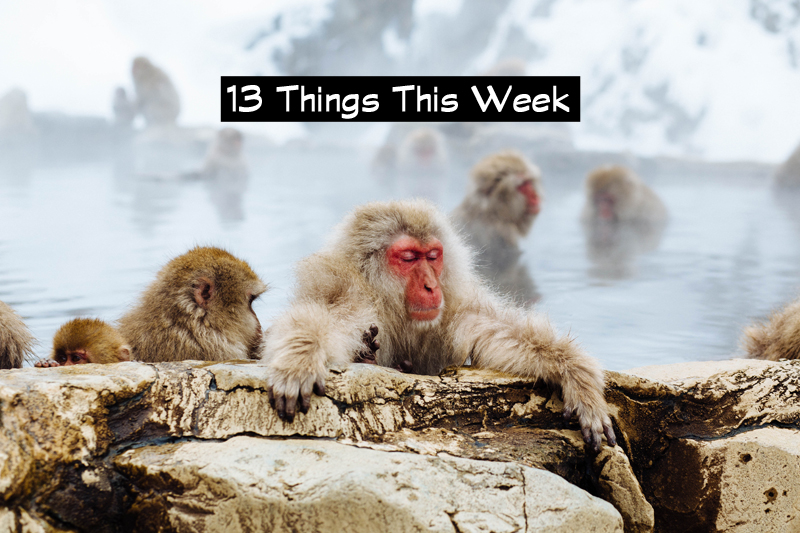 13 Things This Week