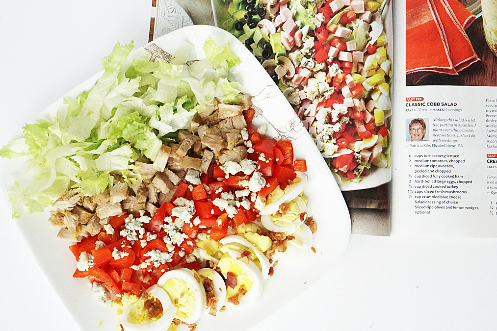 Not So Classic Cobb Salad