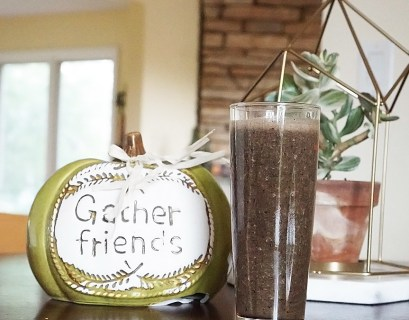 Cranberry and Blueberry Green Smoothie