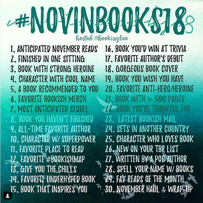 novinbooks18 instagram book photo challenge