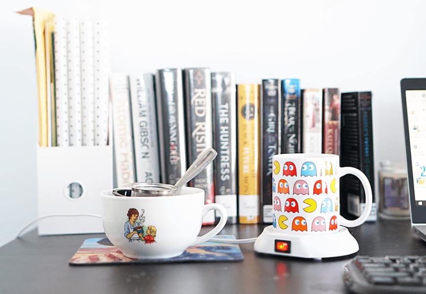 Tea on my desk