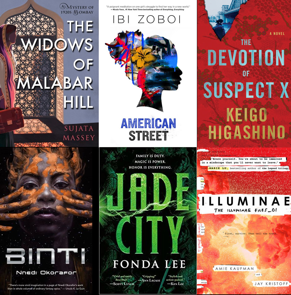 July Monthly Motif Reading Challenge Books