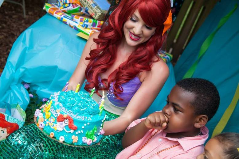 Ariel inspired Little Mermaid Birthday Party Greensboro