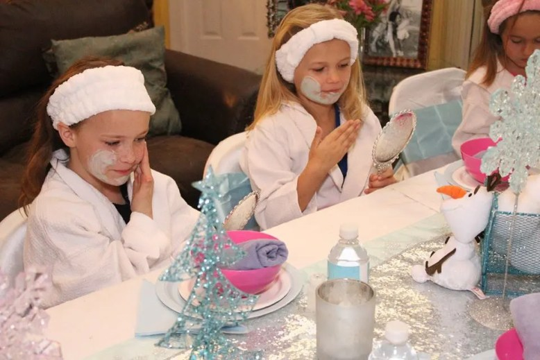 Frozen Spa Princess Party Jacksonville