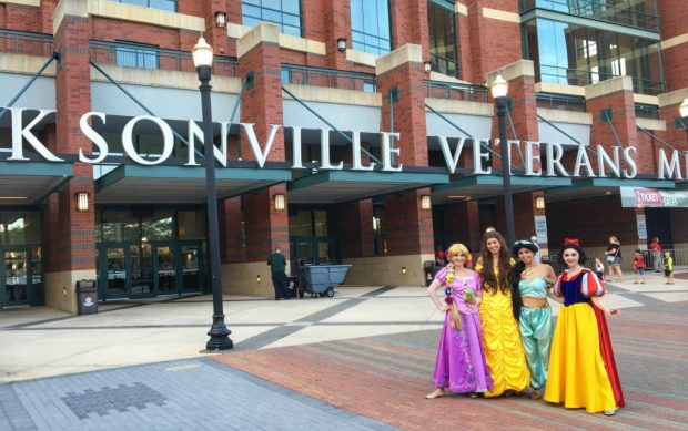 Jacksonville Princess Characters Corporate Events