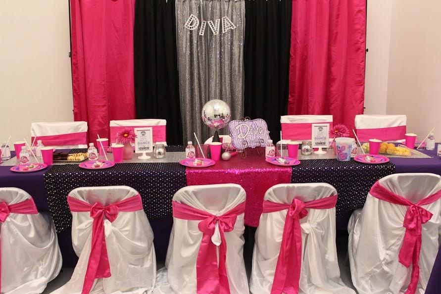 Diva Dance Party for Tween Jacksonville Birthday