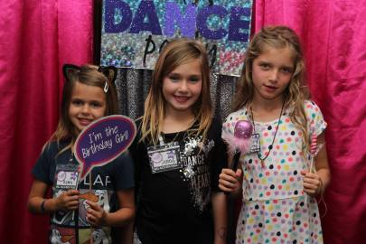 Jacksonville Diva Dance Party Birthday Photo Booth