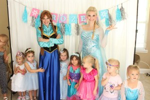 Jacksonville Frozen Anna and Elsa Birthday Party