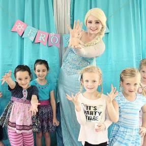 Elsa Anna Frozen Inspired Birthday Party St Augustine