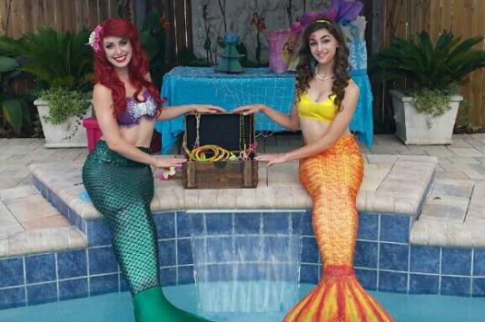 Mermaid Birthday Party Summer Pool Party