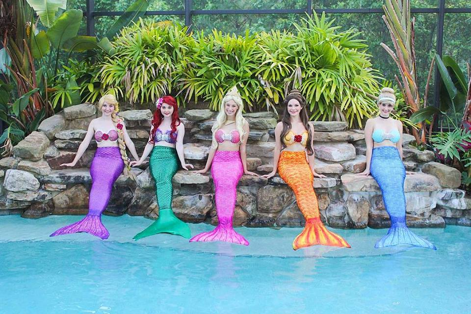 Princess Mermaids Jacksonville and St Augustine Birthday Party Characters