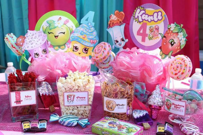 St Augustine Shopkins Birthday Party Decor