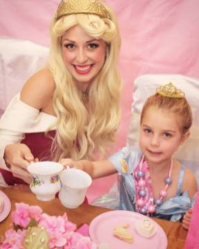 St Augustine Sleeping Beauty Princess Birthday Party