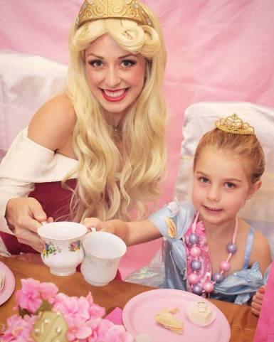 St Augustine Sleeping Beauty Princess Birthday Party