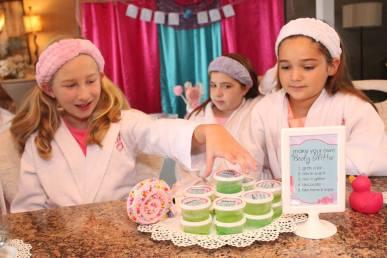 Jacksonville Spa Craft Birthday Party