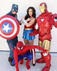 Jacksonville St Augustine Superhero Birthday Party Characters for Hire
