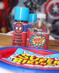 Jacksonville Superhero Birthday Party Decor