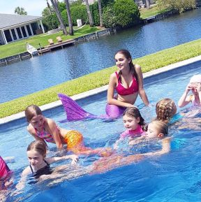 Jacksonville Swimming Mermaid Party