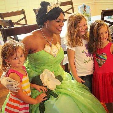 St Augustine Tiana Frog Princess Party