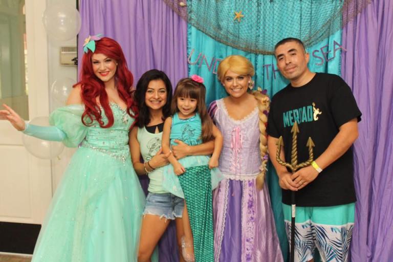 Ariel and Rapunzel Princess Party St Augustine