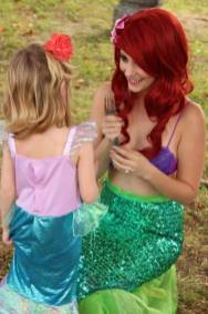 Ariel Inspired Little Mermaid Birthday St Augustine