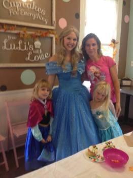 Live Action Cinderella Ella Birthday