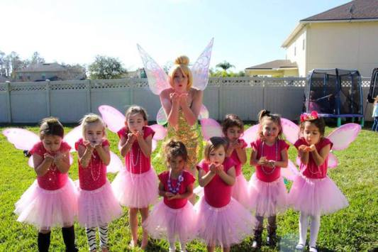 Tinkerbell Fairy Birthday Party Jacksonville