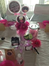 Chocolate Kids Spa Party