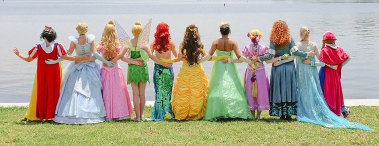 Disney Inspired Princess Party Characters for Hire