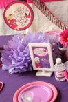 Diva Spa Table Setting