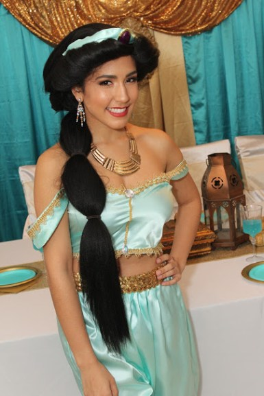 Jasmine Arabian Princess Birthday Party