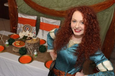 Merida Brave Inspired Princess Party Nashville