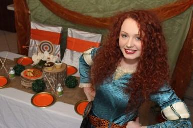 Merida Brave Inspired Princess Party Nashville